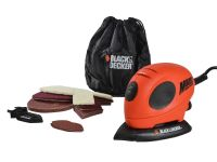 Black & Decker Mouse Sander & Free Accessory Pack